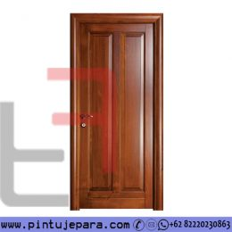 Pintu Jati Single 2 Panel Vertikal PJ-283