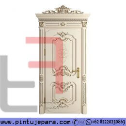 Pintu Ukir Mewah French Style Duco Single PJ-311