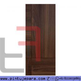 Kusen Pintu Kamar Jati Minimalis Panel Blok Modern PJ-716